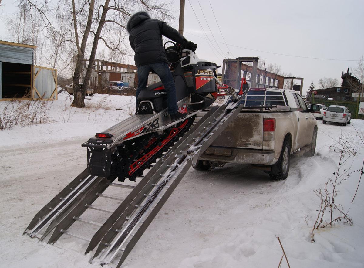 Трапы для снегохода своими руками 53